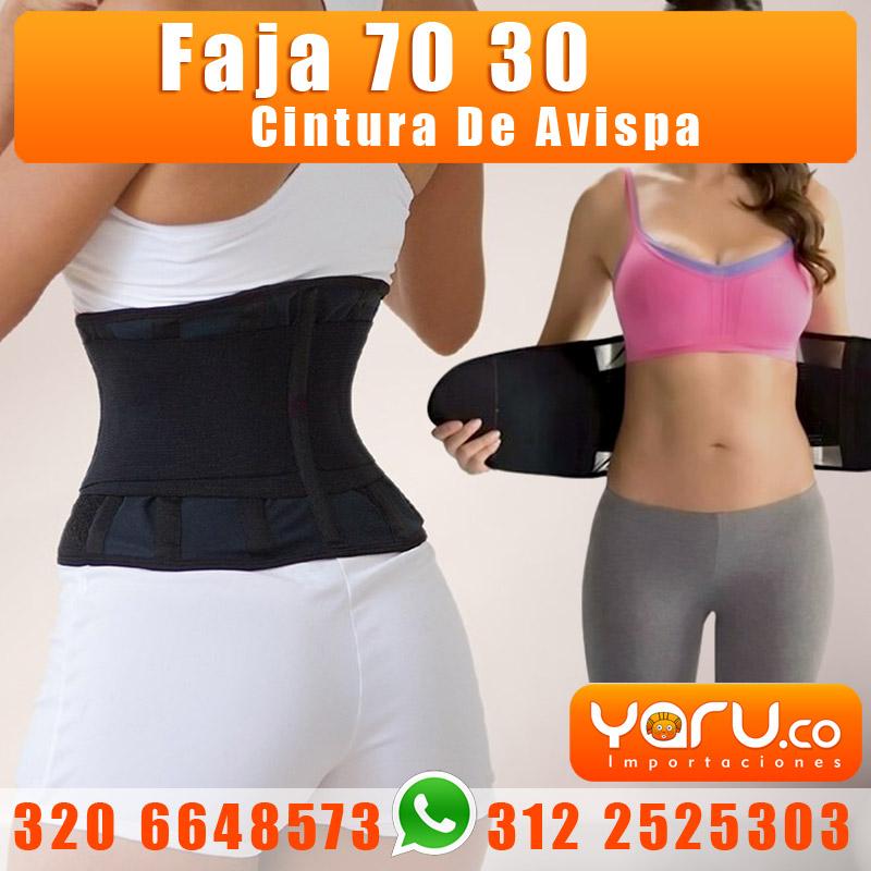 Faja 70 30 Cintura De Avispa