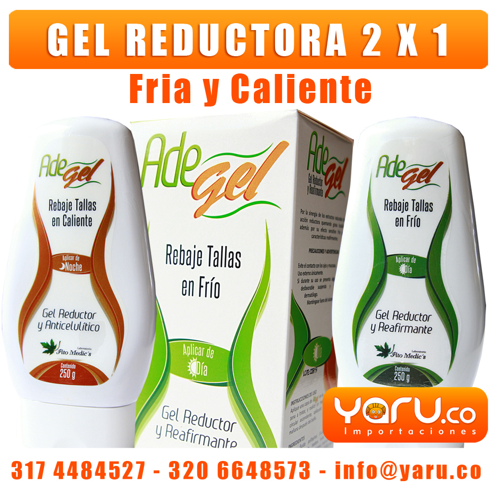 Gel Reductora Cali AdeGel