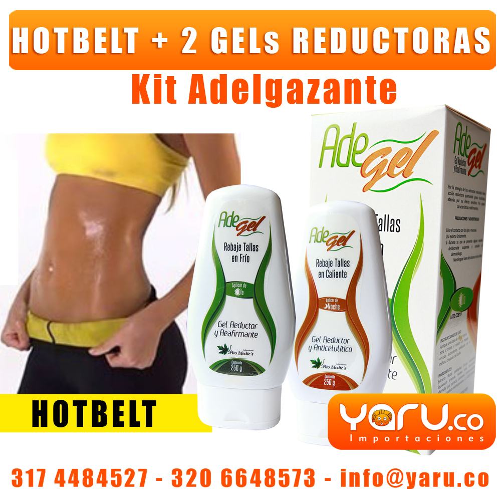 Gel Reductora Cali AdeGel HotBelt