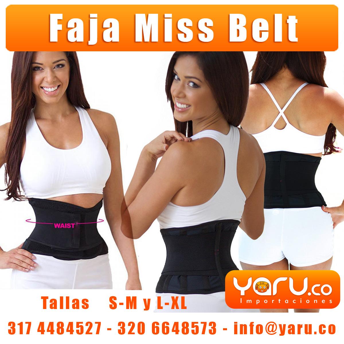 a036c8b612ec Promocion Faja MissBelt AA Negra 2x1 Cintura de Avispa - YARU ...