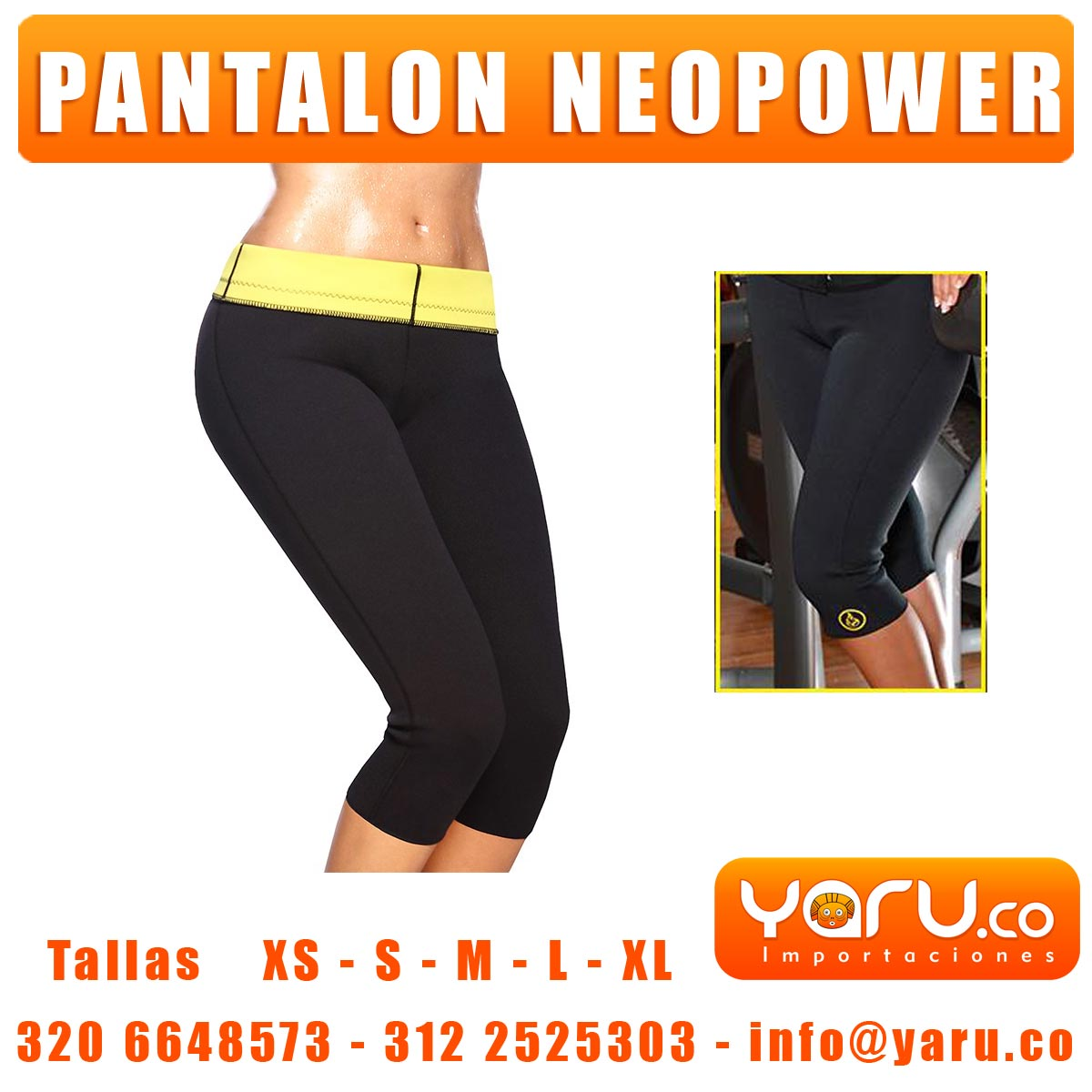 Pantalon Neopower HotShapper
