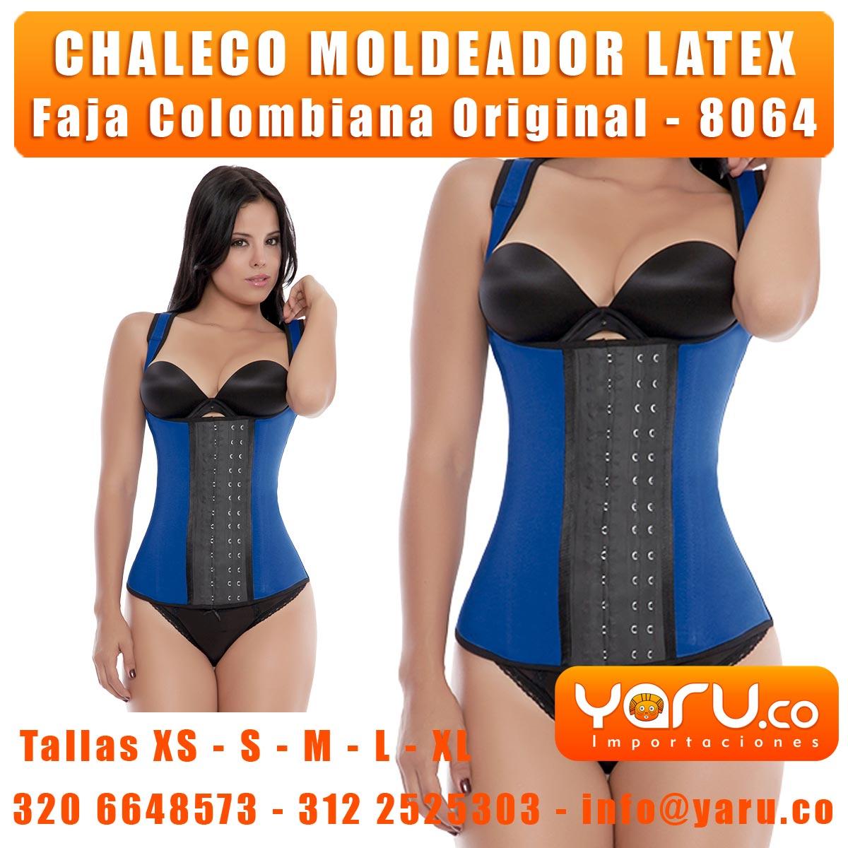 Chaleco Moldeador Latex. Yaru Fabrica de Fajas Colombianas ... 6be4708a7e5b6