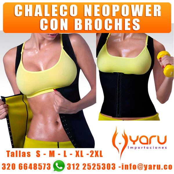 Chaleco Mujer Termico Reductor con broches