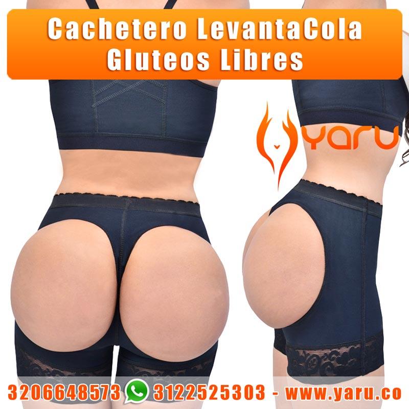 cachetero panty realce cola gluteos libres