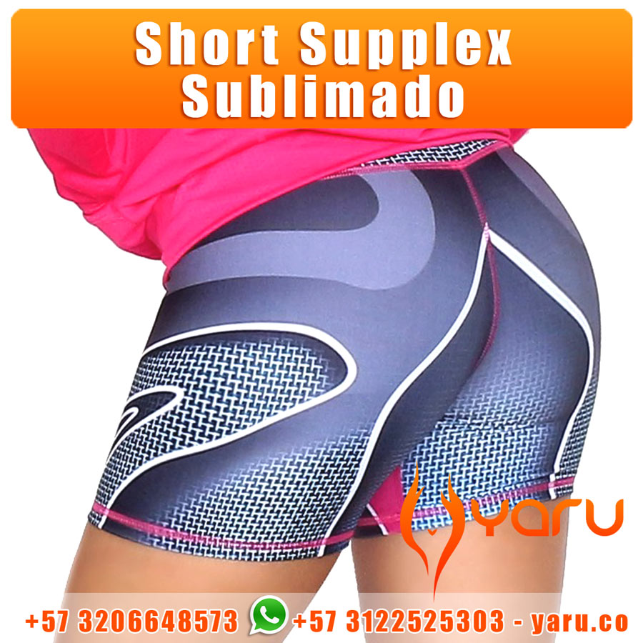 c9755222350b4 Short Supplex Sublimado YARU Fabrica Colombiana Ropa Deportiva