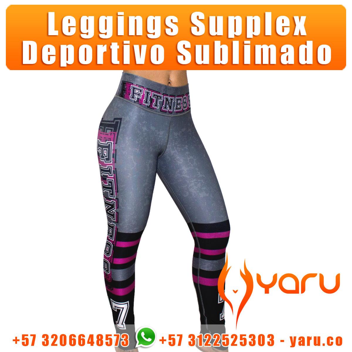 YARU Colombian Sportswear manufacturer leggings supplex tops shorts