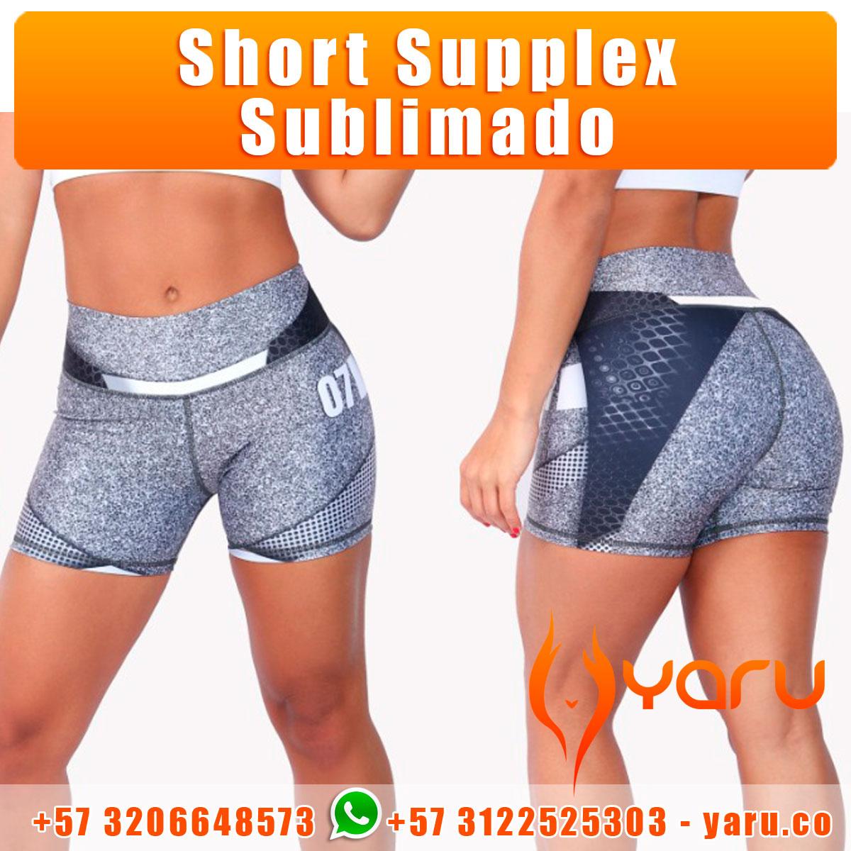 YARU Fabrica Colombiana Ropa Deportiva short supplex sublimado