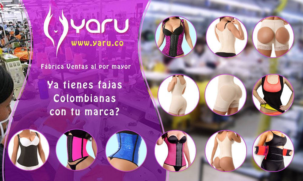 YARU Fabrica Colombiana Fajas Postquirurgicas